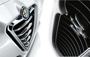 Fiat Chrysler, Μaserati, Alfa Romeo, Fiat Chrysler, maserati, Alfa Romeo
