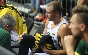 Έσπασε, Λεκαβίτσιους, Eurobasket, espase, lekavitsious, Eurobasket