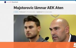 AEK, Daniel Majstorovic#039s