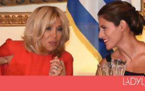 Brigitte Macron-Μπέτυ Μπαζιάνα, Brigitte Macron-bety baziana