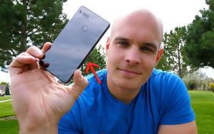 Essential Phone, Drop, [video]