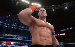 Wrestlers, WWE 2K18