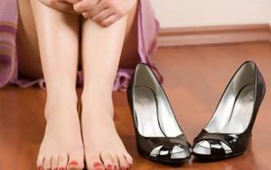 Τα χειρότερα παπούτσια για τα πόδια σου
