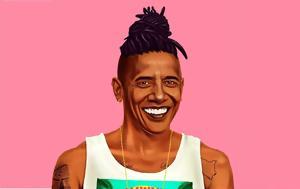 Τραμπ Ομπάμα, Μέρκελ, trab obama, merkel