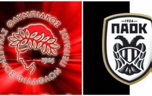 ΠΑΟΚ - Ολυμπιακός, Volleyleague, paok - olybiakos, Volleyleague