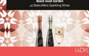 Black, White, BiancoNero, Black Duck Garden