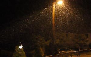 Απίστευτο, Χιονίζει, Ελλάδα [βίντεο], apistefto, chionizei, ellada [vinteo]