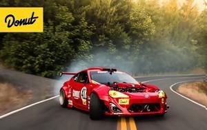 Τράκαρε, Toyota GT86, 458 Italia, Ferrari, trakare, Toyota GT86, 458 Italia, Ferrari
