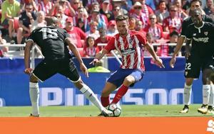 Ατλέτικο Μαδρίτης - Σεβίλλη 2-0, atletiko madritis - sevilli 2-0