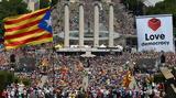 Διαδηλώνουν, Καταλανοί,diadilonoun, katalanoi