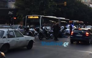 Σύγκρουση, Θεσσαλονίκης, sygkrousi, thessalonikis
