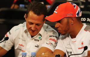 Hamilton, Schumacher