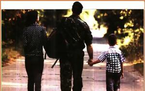 Τι γινεται όταν οι δυο γονείς είναι στον στρατό και πρέπει να πάνε το παιδί σχολείο
