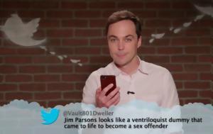 Mean Tweets, Τζένιφερ Ανιστον Τζέικ Τζίλενχαλ Τζιμ Πάρσονς, Wonder Woman, Mean Tweets, tzenifer aniston tzeik tzilenchal tzim parsons, Wonder Woman