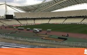 Ολυμπιακό Στάδιο, Europa League, ΑΕΚ - Αούστρια, olybiako stadio, Europa League, aek - aoustria