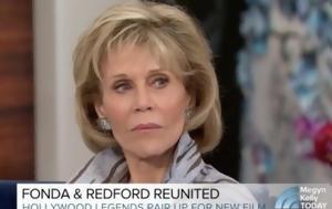 Ξαφνιάστηκε, Jane Fonda, xafniastike, Jane Fonda