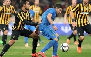 Αστέρας Τρίπολης - ΑΕΚ 0-0 ΗΜ, asteras tripolis - aek 0-0 im