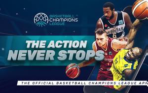 Κυκλοφόρησε, Basketball Champions League, kykloforise, Basketball Champions League