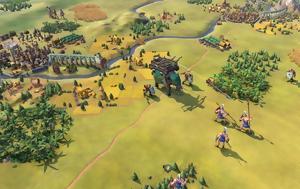 Civilization 6, Ινδονήσιους, Χμερ, Civilization 6, indonisious, chmer