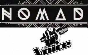 Τηλεθέαση, Σκληρή, Nomads, Voice, tiletheasi, skliri, Nomads, Voice