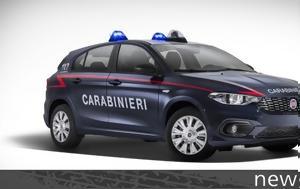 Fiat Tipo, Ιταλούς Carabinieri, Fiat Tipo, italous Carabinieri