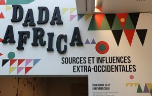 Dada Africa, Μουσείο Orangerie, Παρισιού, Dada Africa, mouseio Orangerie, parisiou