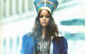 Ριάνα, Εντυπωσιακό, Vogue - Σαν, Αιγύπτου, riana, entyposiako, Vogue - san, aigyptou