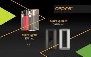 Trending, Aspire Speeder, Aspire Cygnet