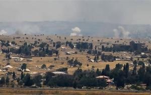 Επίθεση, Ισραήλ Υψώματα Γκολάν – Τουλάχιστον 9, epithesi, israil ypsomata gkolan – toulachiston 9