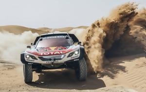 Nτακάρ 2018, Ολοκλήρωσε, Peugeot Sport, Ntakar 2018, oloklirose, Peugeot Sport