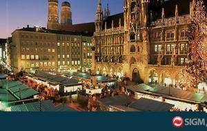 Έξι Ευρωπαϊκές Χριστουγεννιάτικες Αγορές, exi evropaikes christougenniatikes agores