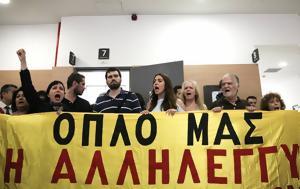 Κίνημα Δεν, Κοντονή - Τόσκα, kinima den, kontoni - toska