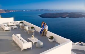 363 Champagne Lounge, Grace Santorini, Best Hotel Bar, European Hospitality Awards 2017