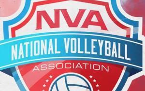 Γεννήθηκε, NVA, Αμερικανική Volleyleague, gennithike, NVA, amerikaniki Volleyleague