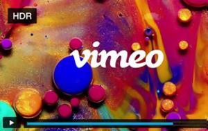 Vimeo, HDR