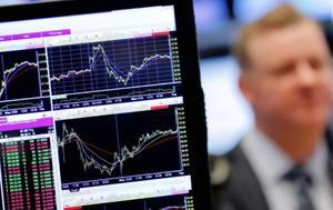 Wall Street, Δεύτερη, Dow Jones, SP 500, Wall Street, defteri, Dow Jones, SP 500