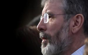 Ιρλανδία, Τέλος, Τζέρι Άνταμς, Σιν Φέιν, irlandia, telos, tzeri antams, sin fein