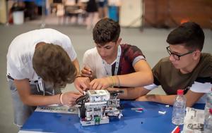 Πανελλήνιος Διαγωνισμός Εκπαιδευτικής Ρομποτικής 2018, Ελληνικό Κόσμο, panellinios diagonismos ekpaideftikis robotikis 2018, elliniko kosmo