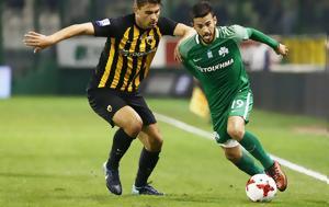 Παναθηναϊκός - ΑΕΚ 1-1, Λιβάγια, Λεωφόρο, panathinaikos - aek 1-1, livagia, leoforo
