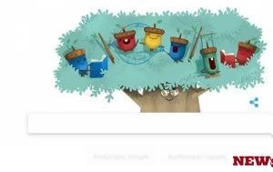 Ημέρα, Παιδιού 2017, Google, Δικαιώματα, Παιδιού, Doodle, imera, paidiou 2017, Google, dikaiomata, paidiou, Doodle