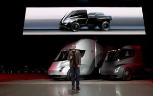 Ξεκίνησαν, Tesla Semi, Walmart, xekinisan, Tesla Semi, Walmart