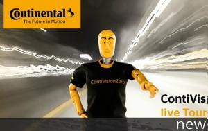 Continental, Ενεργά, Vision Zero, Continental, energa, Vision Zero
