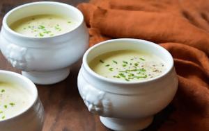 Μια νοστιμότατη βελουτέ σούπα για τις βροχερές μέρες!
