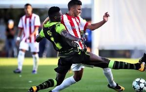 Youth League, Στάθηκε, Ολυμπιακός 1-1, Σπόρτινγκ, Youth League, stathike, olybiakos 1-1, sportingk
