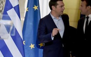 Μακρόν, Τσίπρα, Παρίσι, makron, tsipra, parisi