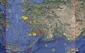 Σεισμός 5, Τουρκία, seismos 5, tourkia