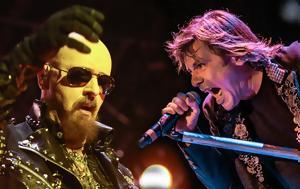 """Judas Priest, Iron Maiden, """"λίμπα"""", Rockwave, Judas Priest, Iron Maiden, """"liba"""", Rockwave"""