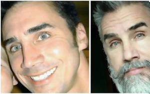 20 πριν και μετά φωτογραφίες με μουσάτους άντρες που τόλμησαν δραστικό ξύρισμα