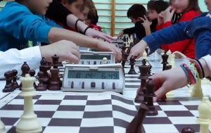Tο 10ο Σχολικό Πρωτάθλημα Σκάκι, Τούμπα, To 10o scholiko protathlima skaki, touba