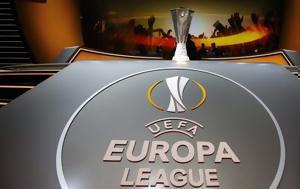 Κλήρωση Europa League, Αυτή, ΑΕΚ - Όλα, klirosi Europa League, afti, aek - ola